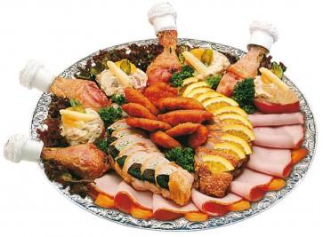 Piccolo-Geflügel-Platte