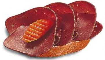 mit original Bündnerfleisch (CSv)