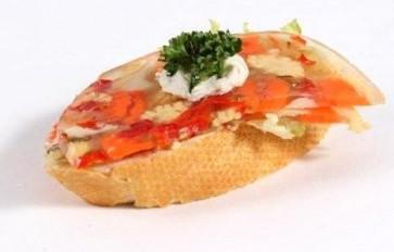 mit Gemüsesülze (PSw)