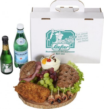 Lunchpaket Gourmet mit Sekt