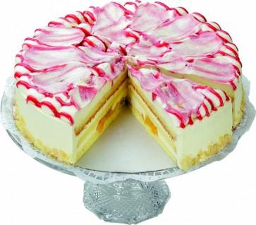 Pfirsich-Melba-Sahne-Torte