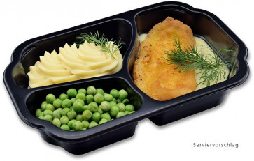 Lunch 5: Gebratenes Schollenfilet