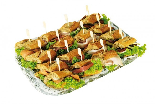 Mini Baguette Sandwiches Partyservice Berlin Catering Und