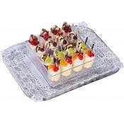 Rote Grütze mit Vanillesauce (Mini-Dessert)