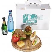 Lunchpaket vegetarisch mit Sekt
