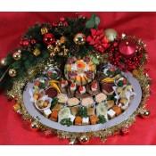 """Festtagsplatte """"Merry Christmas"""""""