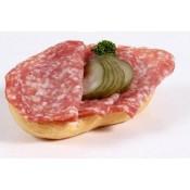 mit original italienischer Salami (BW)