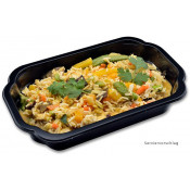 Lunch 9: Gelbes Thai-Curry