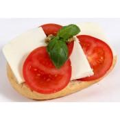 mit Tomate und Mozzarella (VBW)