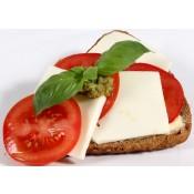 mit Tomate und Mozzarella (VBM)