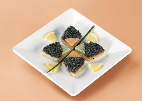 Kaviar-Arrangement New Style