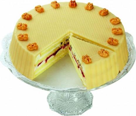 Marzipan-Creme-Torte