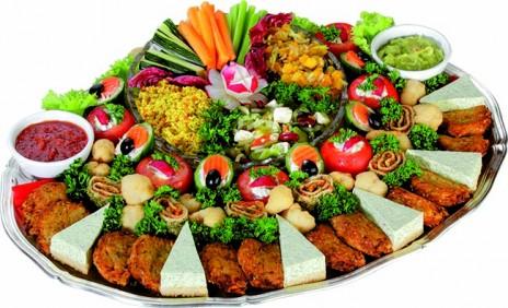 Vegetarische Schlemmertafel