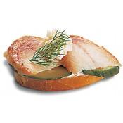 mit Räucheraal-Filet (CSw)