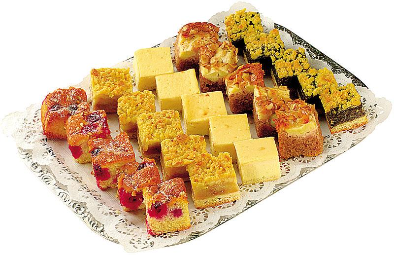 Kuchen fingerfood buffet